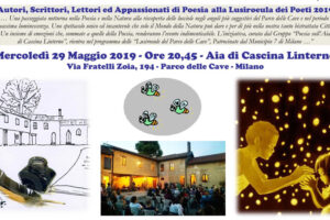 """29 maggio: """"La Lusiroeula dei Poeti 2019"""""""