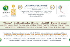 """13 dicembre: """"Cineforum – Alla scoperta dell'Altro: Wonder"""""""