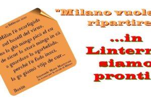 """29 febbraio: """"…in Linterno siamo pronti!"""""""