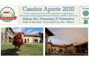 """26 – 27 settembre: """"Cascine Aperte 2020"""""""