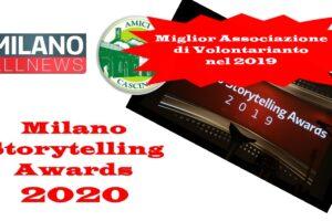 """20 ottobre: """"Milano Storytelling Awards 2020"""""""
