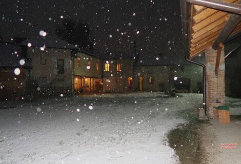 Linterno e la Neve (le Immagini di Paolo Zandrini)