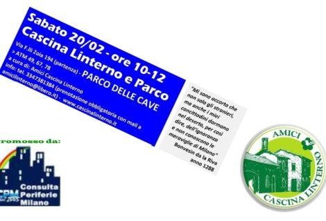 """20 febbraio: """"PeriferiArtMi – Cascina Linterno e Parco delle Cave"""""""